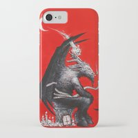 baphomet iPhone & iPod Cases featuring Baphomet by James Bousema