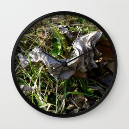 Nature Litter Wall Clock