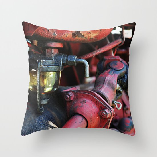 Fuel Sediment Bowl Throw Pillow