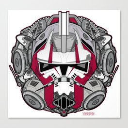 Trooper RED 1 Rogue Canvas Print