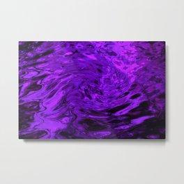 Purple Wave Metal Print