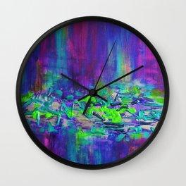 Warmth of the Rain Wall Clock