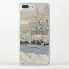 Claude Monet  -  The Magpie Clear iPhone Case