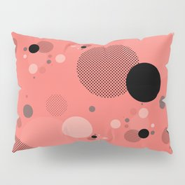 Coral Dots Pillow Sham