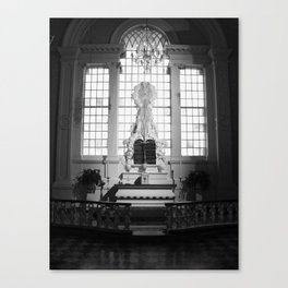 WHITEOUT : Sinful Canvas Print