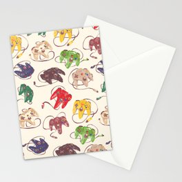 N64 CONTROLLERS Stationery Cards