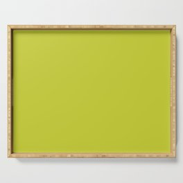 SOLID CHARTREUSE Serving Tray