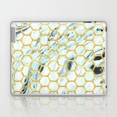 Teal + Gold #society6 #decor #buyart Laptop & iPad Skin