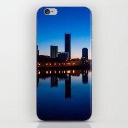 Night city iPhone Skin