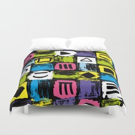 Fashion Patterns Shell-Shocked Duvet Cover