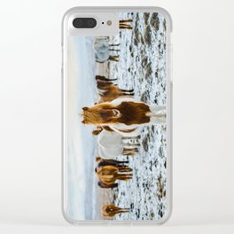 Nordic Wild Clear iPhone Case