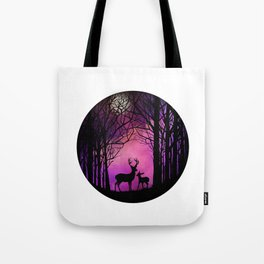 Purple Dreamers Tote Bag