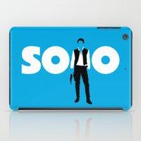 han solo iPad Cases featuring Han Solo by Vector Vectoria
