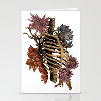 bones Stationery Cards featuring Bones by Zé Pereira Illustration