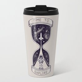 Time To Explore Travel Mug