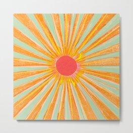 Sun In The Sky 2 Metal Print