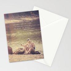 Holding Life Still Stationery Cards