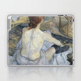 """Henri de Toulouse-Lautrec """"Rousse (La Toilette)"""" Laptop & iPad Skin"""