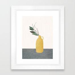 Little Branch Framed Art Print