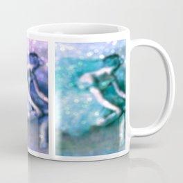 The Dancer Pastel by Degas Bokeh Sparkle Coffee Mug