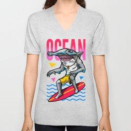 The ocean Unisex V-Neck
