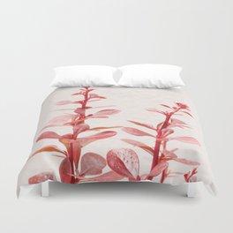 SOFT RED PLANT - Berberis #Art #Society6 #Decor #1 Duvet Cover