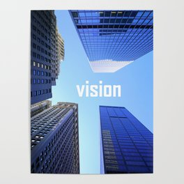 Vision and Buildings Poster