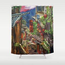 Jiufen Shower Curtain