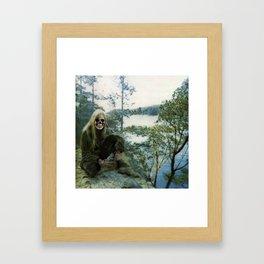 Boney Mitchell Framed Art Print