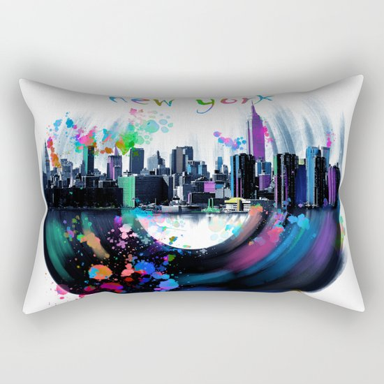 new york city music3 Rectangular Pillow