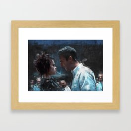 The Confrontation With Marla Singer - Fight Framed Art Print