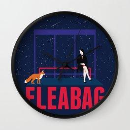Fleabag scene Wall Clock