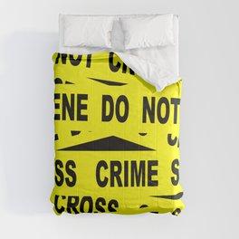 Crime Scene Tape Comforters