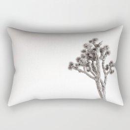 Joshua Tree in Black & White Rectangular Pillow