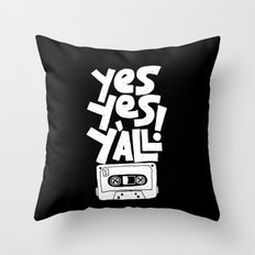 Y'all Throw Pillow