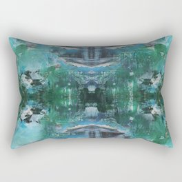 loose yourself in the woods Rectangular Pillow