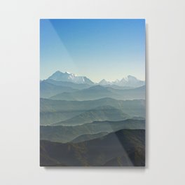 Hima - Layers Metal Print