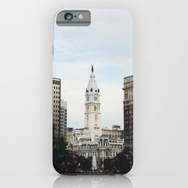 Philadelphia City Hall from the Parkway iPhone Case