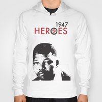 heroes Hoodies featuring HEROES by BALANCE 1947