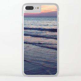 Salt Water Taffy Clear iPhone Case