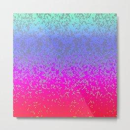 Glitter Star Dust G244 Metal Print