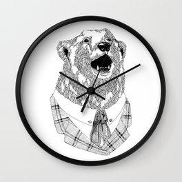 Mr  Bear Wall Clock