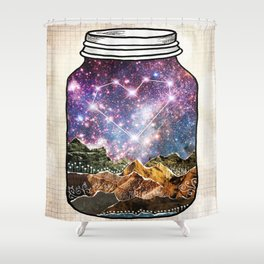 Love Can Move Mountains Shower Curtain