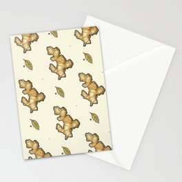 ginger root power Stationery Cards
