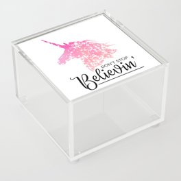 Don't Stop Believin' Acrylic Box