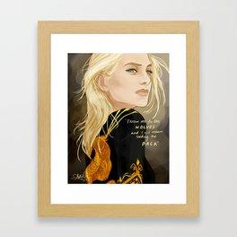 Aelin Ashryver Galathynius Framed Art Print