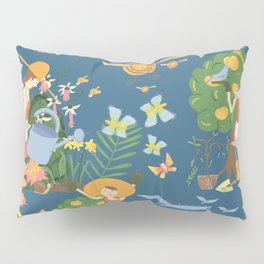 Gardening Party Pillow Sham