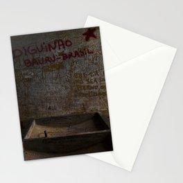 La salle de lavage de Vallegrande Hôpital // The Laundry Room of Vallegrande Hospital Stationery Cards