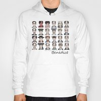 actor Hoodies featuring Benedict the Actor by enerjax