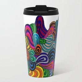 Waves of Freedom Travel Mug